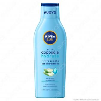 Nivea Sun Latte Doposole Hydrate - Flacone da 200ml