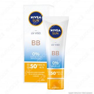 Nivea Sun Crema UV Viso BB FP 50+ - Flacone da 50ml