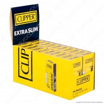 PROV-C00612007 - Clipper Extra Slim 5,5mm Ruvidi - Box 20 Scatoline da 120 Filtri