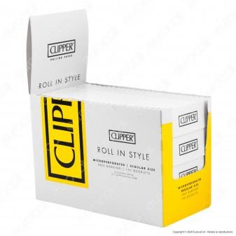 PROV-A00183002 - Cartine Clipper Bianche Corte - Scatola da 100 Libretti