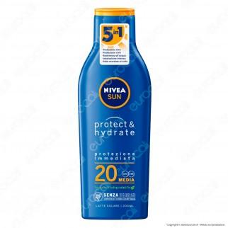Nivea Sun Latte Solare Protect & Hydrate - Flacone da 200ml
