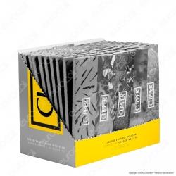 PROV-A00182010 - Cartine Clipper Argento King Size Slim Lunghe - Scatola da 50 Libretti