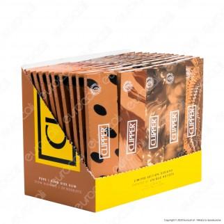 PROV-A00187010 - Cartine Clipper Pure King Size Slim Lunghe - Scatola da 50 Libretti