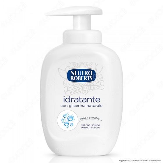 Neutro Roberts Sapone Liquido Idratante con Glicerina Naturale - Flacone da 300ml