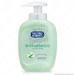 Neutro Roberts Sapone Liquido Antibatterico con Té Verde - Flacone da 300ml