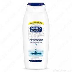 Neutro Roberts Bagnodoccia Idratante con Glicerina Naturale - Flacone da 700ml