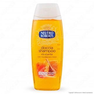 Neutro Roberts Doccia Shampoo Idratante con Miele e Acero Rosso - Flacone da 250ml