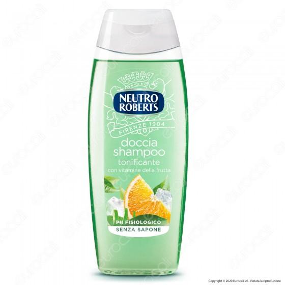 Neutro Roberts Doccia Shampoo Tonificante con Vitamine della Frutta - Flacone da 250ml