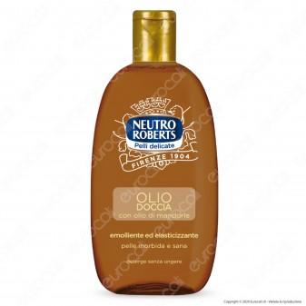 Neutro Roberts Olio Doccia con Olio Naturale di Mandorle - Flacone da 250ml
