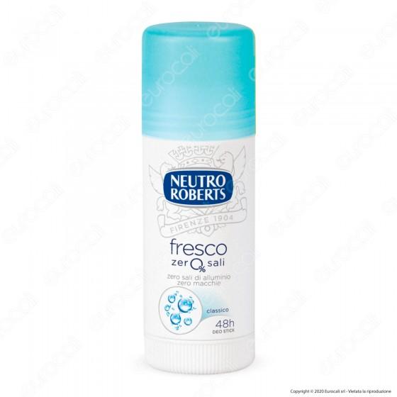 Neutro Roberts Deodorante Stick Fresco Blu - Flacone da 40ml
