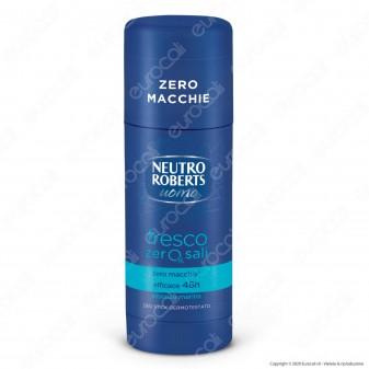 Neutro Roberts Deodorante Stick Fresco Uomo Blu - Flacone da 40ml