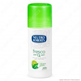 Neutro Roberts Deodorante Stick Fresco Tè Verde & Lime - Flacone da 40ml