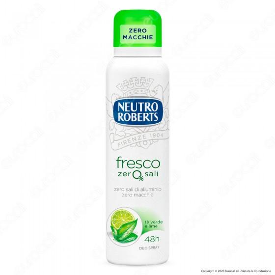Neutro Roberts Deodorante Spray Fresco Tè Verde & Lime - Flacone da 150ml