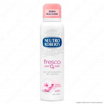 Neutro Roberts Deodorante Spray Fresco Monoi & Fresia - Flacone da 150ml