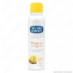Neutro Roberts Deodorante Spray Fresco Zero Sali Essenza Frizzante - Flacone da 150ml