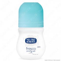 Neutro Roberts Deodorante Roll-On Fresco Blu Zero Sali - Flacone da 50ml