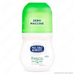 Neutro Roberts Deodorante Roll-On Fresco Té Verde & Lime Zero Sali - Flacone da 50ml