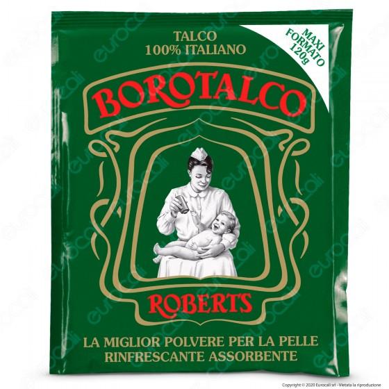 Borotalco Roberts Talco in Polvere - Busta da 120g