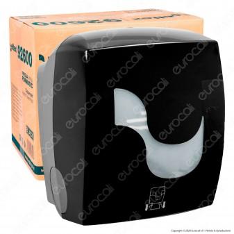 Celtex Formatic Megamini Black Dispenser di Asciugamani da Muro per Bobine non Pretagliate - mod. C92600