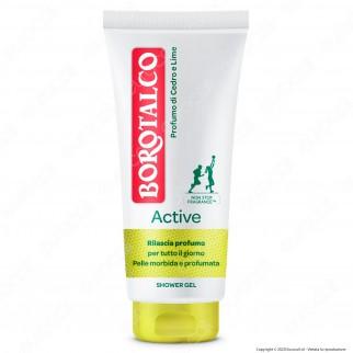 Borotalco Roberts Gel Doccia Active Cedro & Lime - Flacone da 200ml