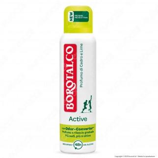 Borotalco Deodorante Spray Active Cedro & LIme - Flacone da 150ml