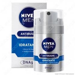 Nivea Men Active Age Fluido Antirughe Idratante DNAge - Flacone da 50ml