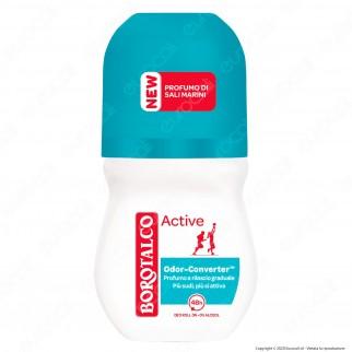 Borotalco Deodorante Roll-On Active Sali Marini - Flacone da 50ml