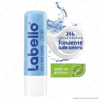 Labello Hydro Care Balsamo Idratante Labbra Burrocacao SPF15 - Confezione da 1pz