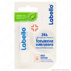 Labello Med Repair Balsamo Idratante Labbra Burrocacao SPF15 - Confezione da 1pz