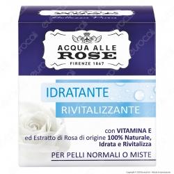 Acqua alle Rose Crema Viso Idratante e Rivitlizzante - Confezione da 50ml