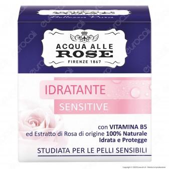 Acqua alle Rose Crema Viso Idratante Sensitive - Confezione da 50ml