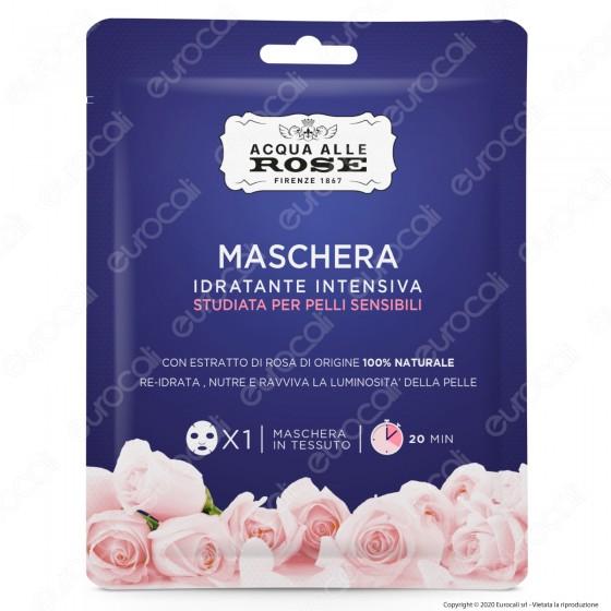 Acqua alle Rose Maschera in Tessuto Idratante Intensiva Pelli Sensibili - Confezione da 1pz.
