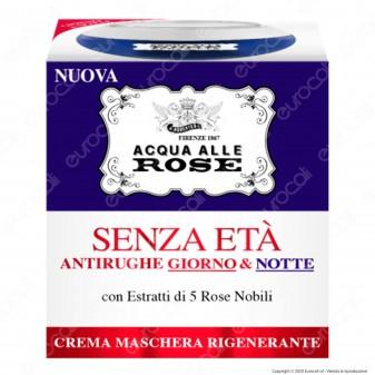 Acqua alle Rose Crema Maschera Senza Età Antirughe Giorno e Notte - Confezione da 50ml