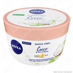 Nivea Soufflé Corpo Crema Idratante al Cocco e Olio di Monoi - Confezione da 200ml