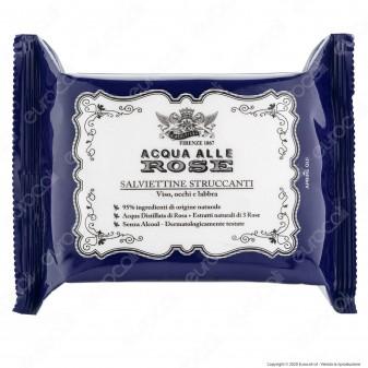 Acqua alle Rose Salviettine Struccanti Viso Occhi Labbra - Confezione da 50pz.