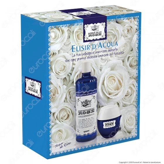 Acqua alle Rose Cofanetto Elisir Acqua Crema Idratante e Tonico Rinfrescante