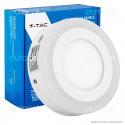 V-Tac VT-809RD Pannello Bi-LED Rotondo 6W + 2W SMD