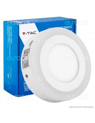 V-Tac VT-809RD Pannello Bi-LED Rotondo 6W + 2W SMD - SKU 4891 /  4892