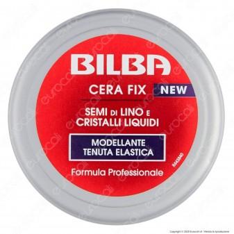 Bilba Styling Cera Fix Semi di Lino e Cristalli Liquidi Modellante Tenuta Elastica Leggero Effetto Bagnato - Confezione da 100ml