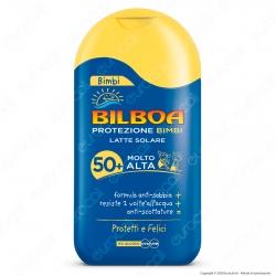 Bilboa Latte Solare Bimbi Protezione Molto Alta SPF50+ - Flacone da 200ml