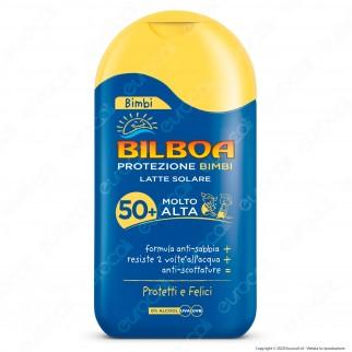 Bilboa Latte Solare Bimbi Protezione Altra SPF50+ - Flacone da 200ml