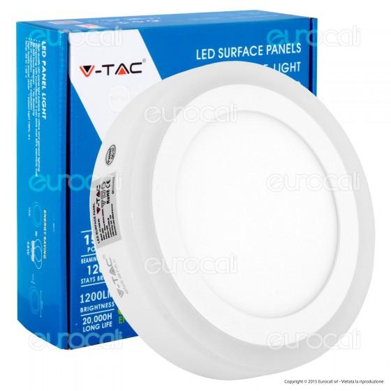 V-Tac VT-1509RD Pannello Bi-LED Rotondo 12W + 3W SMD