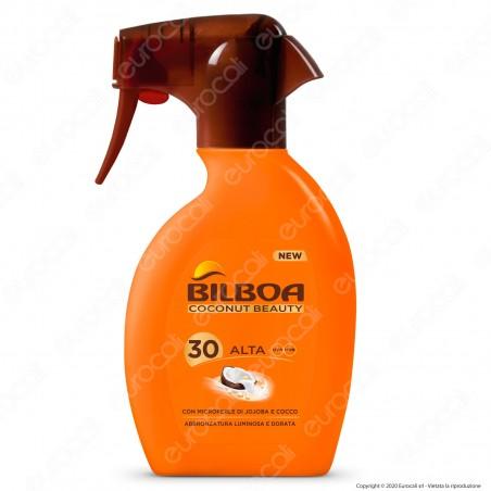 Bilboa Spray Coconut Beauty Protezione Alta SPF30 - Flacone da 250ml