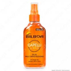 Bilboa Olio Multiprotezione Capelli con filtro UV - Flacone da 150ml