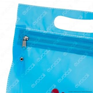 Otovita Care Case - Busta Porta Accessori per Apparecchi Acustici in PVC Blu