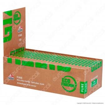 PROV-A00214002 - Cartine Gizeh Fine Pure Corte Non Sbiancate - Scatola da 50 Libretti