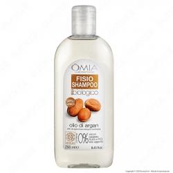 Omia Laboratoires Fisio Shampoo Ecobiologico Olio di Argan - Flacone da 250ml