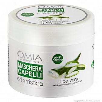Omia Laboratoires Maschera per Capelli Erboristica all'Aloe Vera - Confezione da 200ml