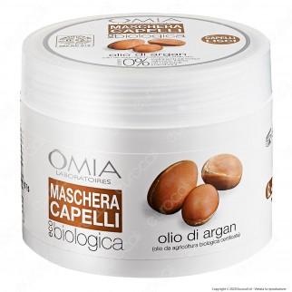 Omia Laboratoires Maschera per Capelli Erboristica Olio di Argan - Confezione da 250ml