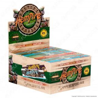 PROV-A00223010 - Cartine Hempire King Size Lunghe 100% Pura Canapa - Scatola da 50 Libretti [TERMINATO]